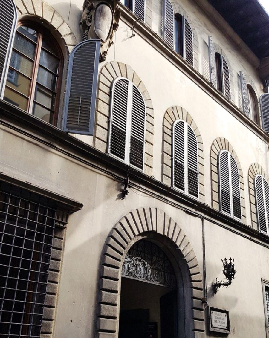 Palazzo Rosselli del Turco via dei serragli firenze